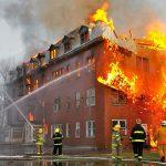 ایمنی آتش سوزی در ساختمان تجاری