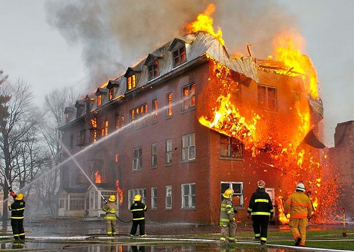 ایمنی آتش سوزی در ساختمان های تجاری