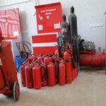 شارژ کپسول آتش نشانیCO2 1